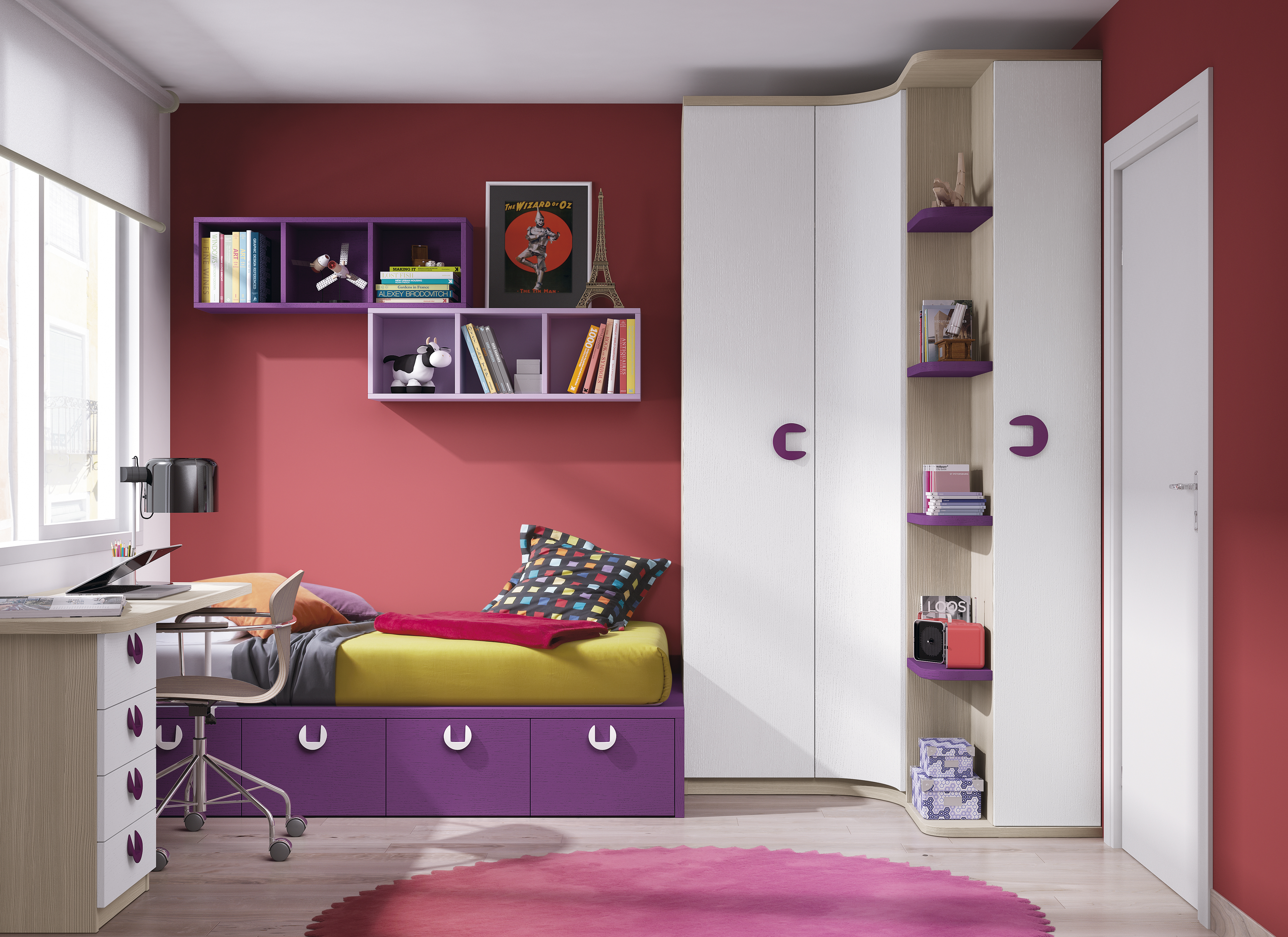 Dormitorios Juveniles Nietohogar ~ Alfombras Para Dormitorios Juveniles
