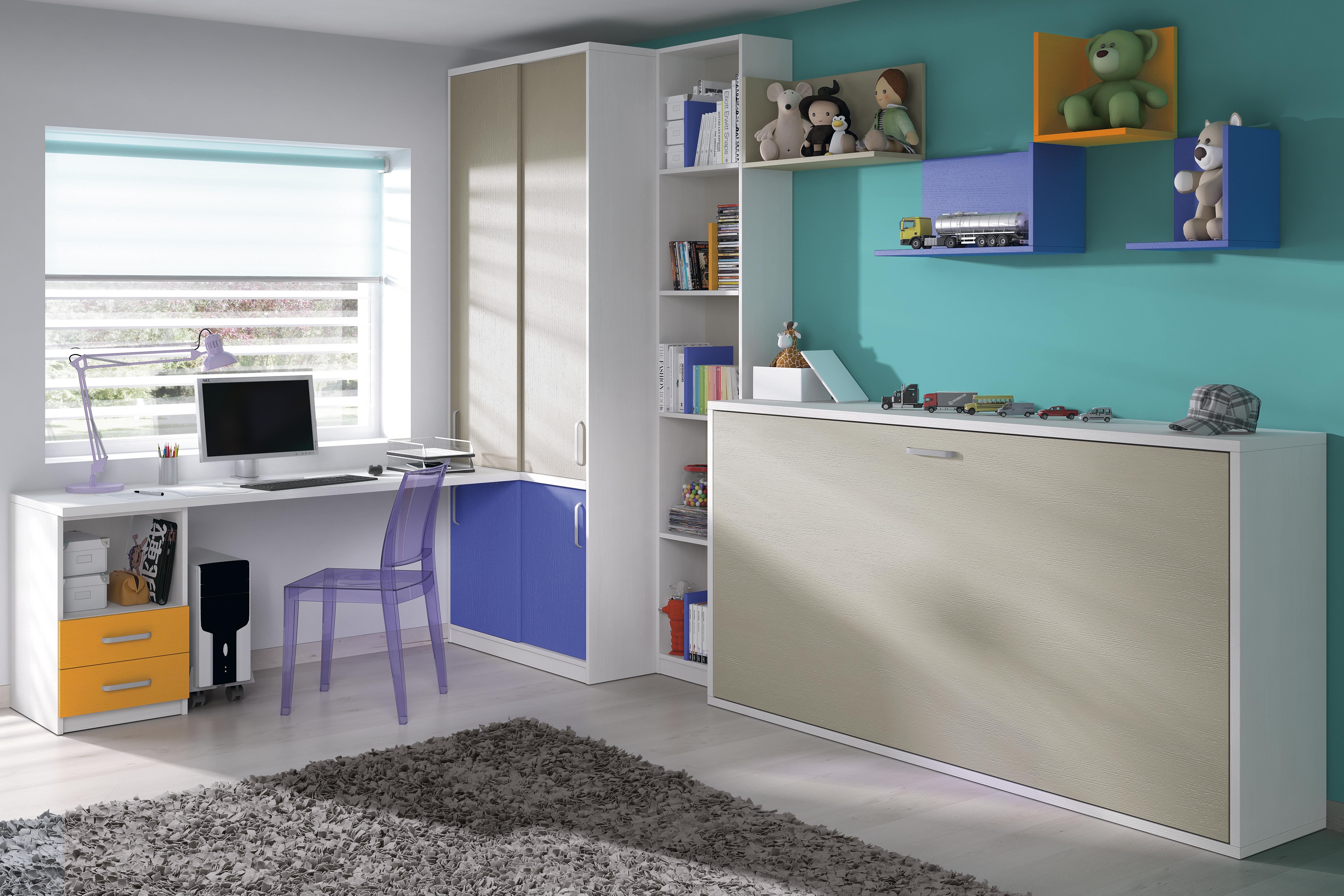 como pintar habitacion juvenil