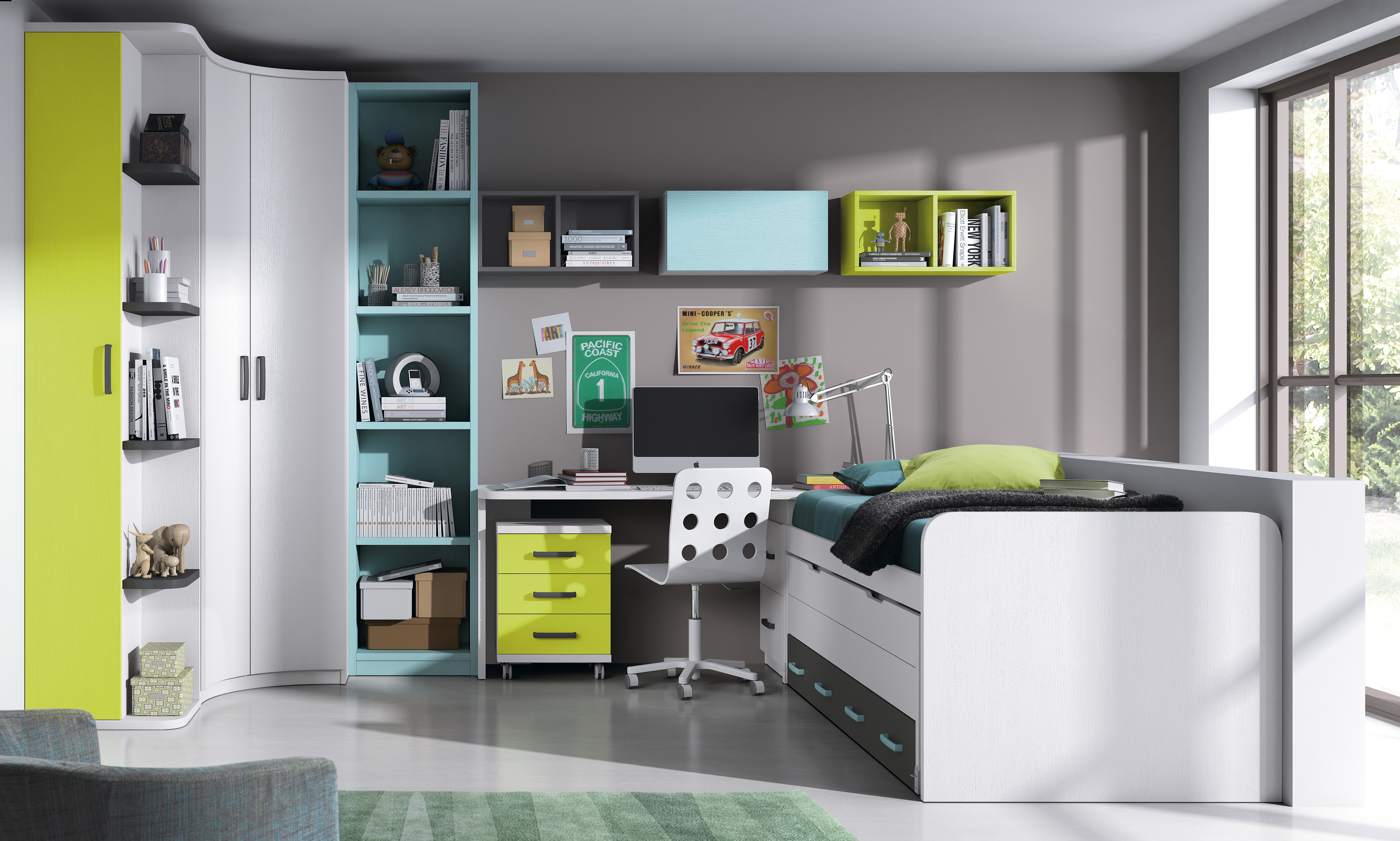 Dormitorios Juveniles Nietohogar