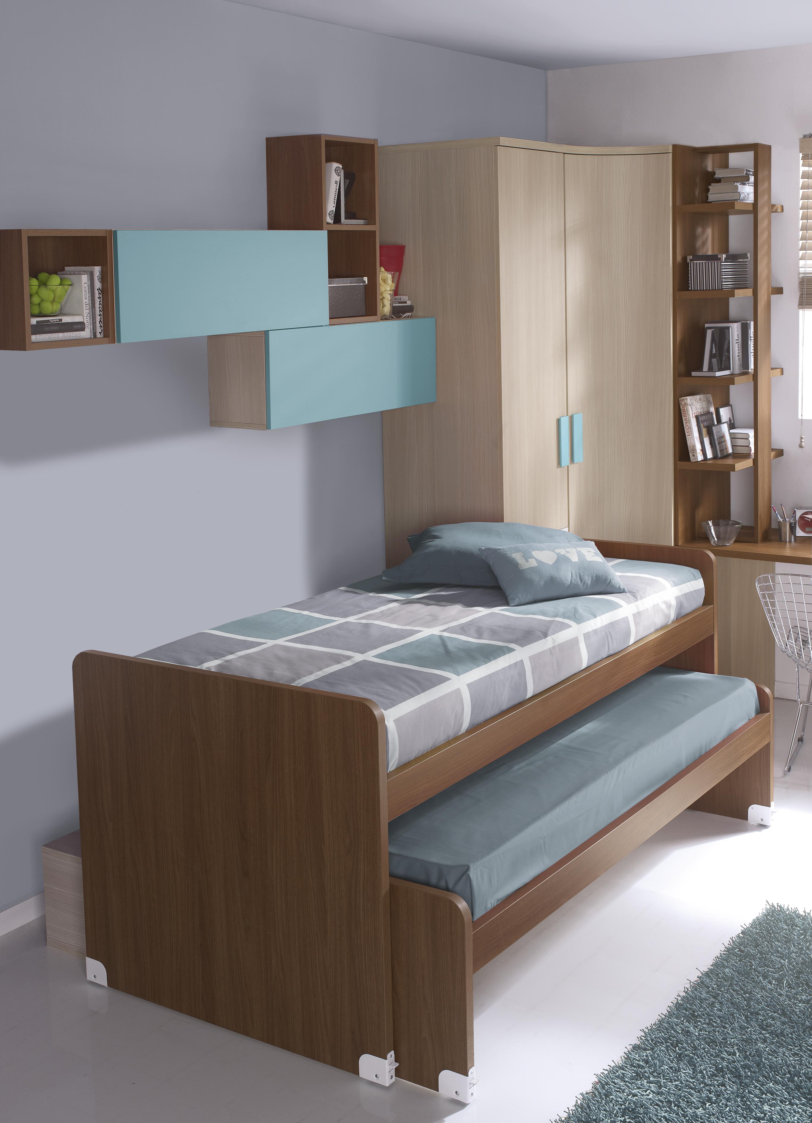 Dormitorios juveniles nietohogar - Habitaciones juveniles 2 camas ...